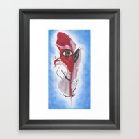 Feather #10 Framed Art Print