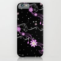 iPhone & iPod Case featuring Retro Daisies by Karma Cases