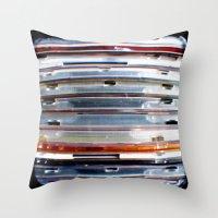 CD Stack - Through The Viewfinder (TTV) - ANALOG zine Throw Pillow