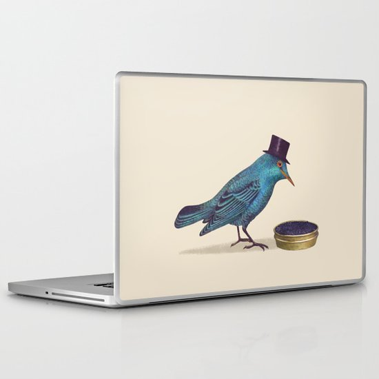 Gentlebirds Prefer Caviar  Laptop & iPad Skin