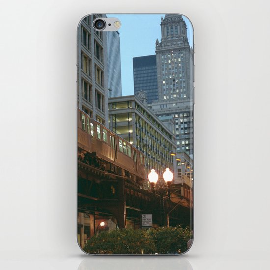 Streets of Chicago iPhone & iPod Skin
