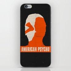 American Psycho iPhone & iPod Skin