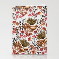 Autumnal Fungi Stationery Cards