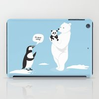 How little Pandas are born iPad Case