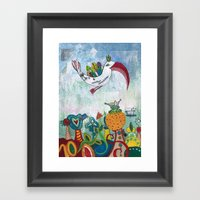 Bird of Possibility Framed Art Print