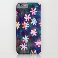 Montauk Daisy - Night iPhone 6 Slim Case