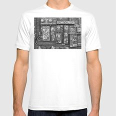 New Orleans - Frenchmen Street Graffiti SMALL White Mens Fitted Tee