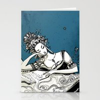 Calliope, The Muse of Epic Poetry Stationery Cards