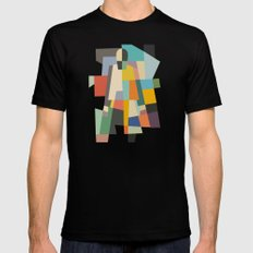 MISTERY WOMAN Mens Fitted Tee Black SMALL