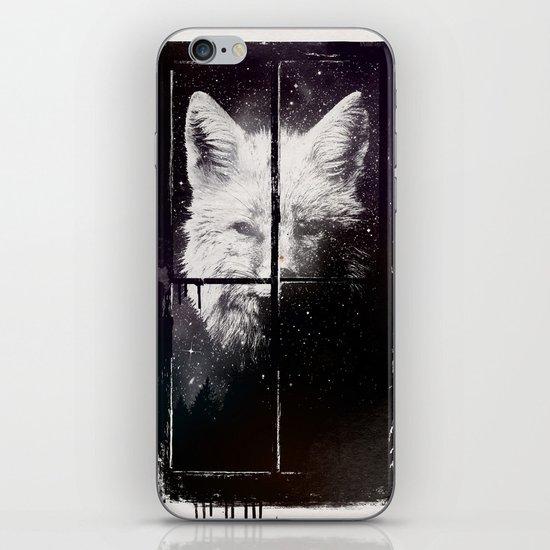 Night window iPhone & iPod Skin
