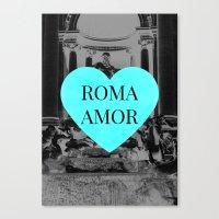 romamor Canvas Print