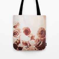 Falling Flower Variation II Tote Bag