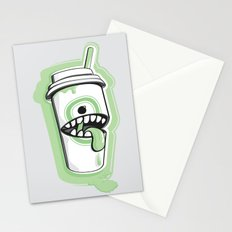 Latte Ghost Stationery Cards