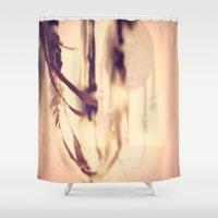 Dreamcatcher Feathers Shower Curtain