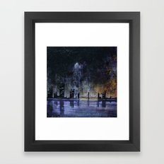 A Certain Shade of Green Framed Art Print