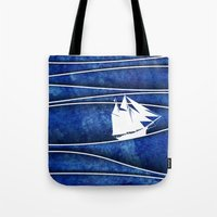 The Lonely Sea Tote Bag