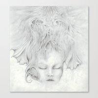 Moonflower Canvas Print