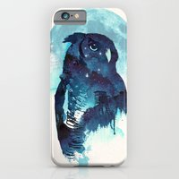 iPhone & iPod Case featuring Midnight Owl by Robert Farkas