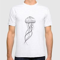 Jelly Mens Fitted Tee Ash Grey SMALL