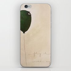 fly high wide eyes 2 iPhone & iPod Skin