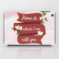 Home Is - In Red iPad Case