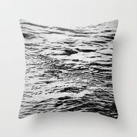 Ripling Water Throw Pillow