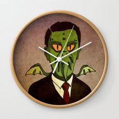 Prophets of Fiction - H.P. Lovecraft /Cthulhu Wall Clock