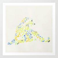 Cheetah 2 Art Print