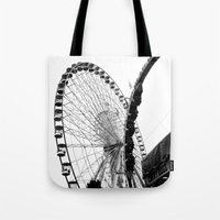 At The Fair: Round And R… Tote Bag