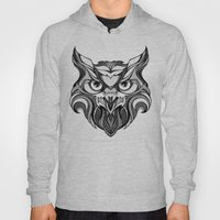 Owl - Drawing Hoody