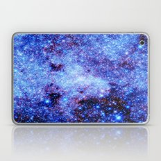 GAlaxy Periwinkle Stars Laptop & iPad Skin