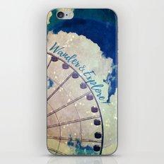 Wander & Explore iPhone & iPod Skin