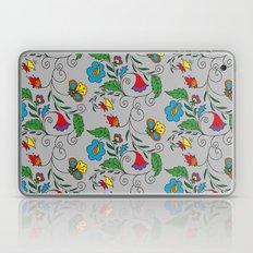 Ethnic Floral Flow Laptop & iPad Skin