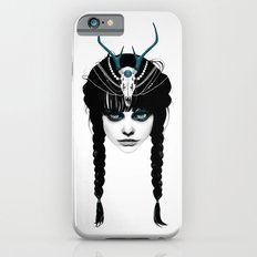 Wakeful Warrior - In Blue iPhone 6 Slim Case