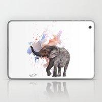 Dancing Elephant Paintin… Laptop & iPad Skin