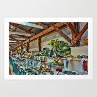 The Good Ole Country Fai… Art Print