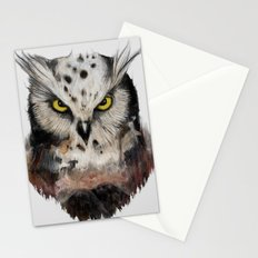 The owls are not what they seem Stationery Cards