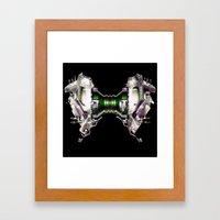 KISSME Framed Art Print