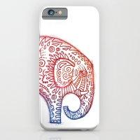 elephants iPhone & iPod Cases featuring Elephants by Alibabaform