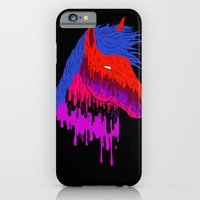 iPhone & iPod Case featuring The Psychedelic Melt by ELECTRICMETHOD.NET