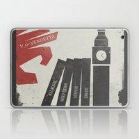 V for Vendetta, Alternative Movie Poster Laptop & iPad Skin