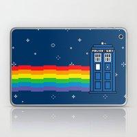 TARDIS / Nyan / 8-Bit Poster Laptop & iPad Skin