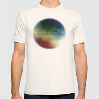 V2:It does not do to dwell on dreams Mens Fitted Tee Natural SMALL