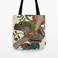 Phileus Frog Tote Bag