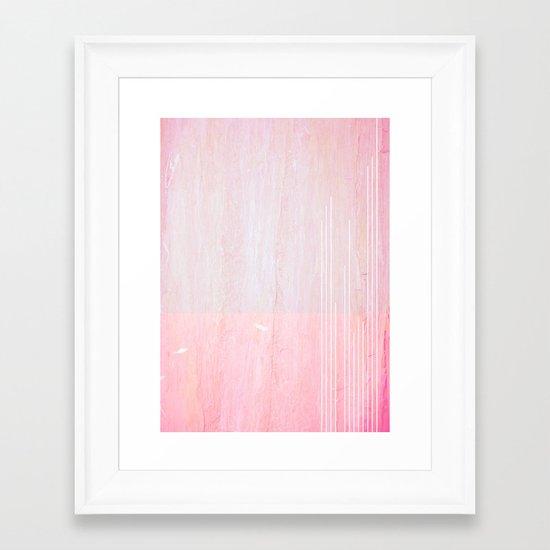 played as heard Framed Art Print