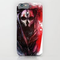 iPhone Cases featuring Darth Nihilus by Vincent Vernacatola
