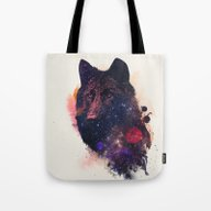 Universal Wolf Tote Bag