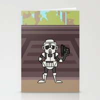 EP6 : Scout Trooper Stationery Cards