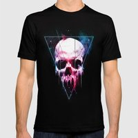 We Are All Made of Stars Mens Fitted Tee Black SMALL