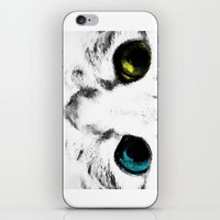 CAT'S EYES iPhone & iPod Skin